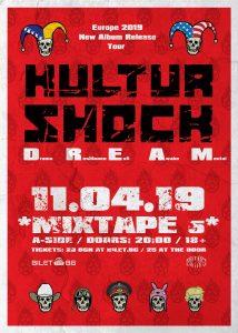 Kultur Shock /new album promo*/ live at club *Mixtape5* / 11.04.19