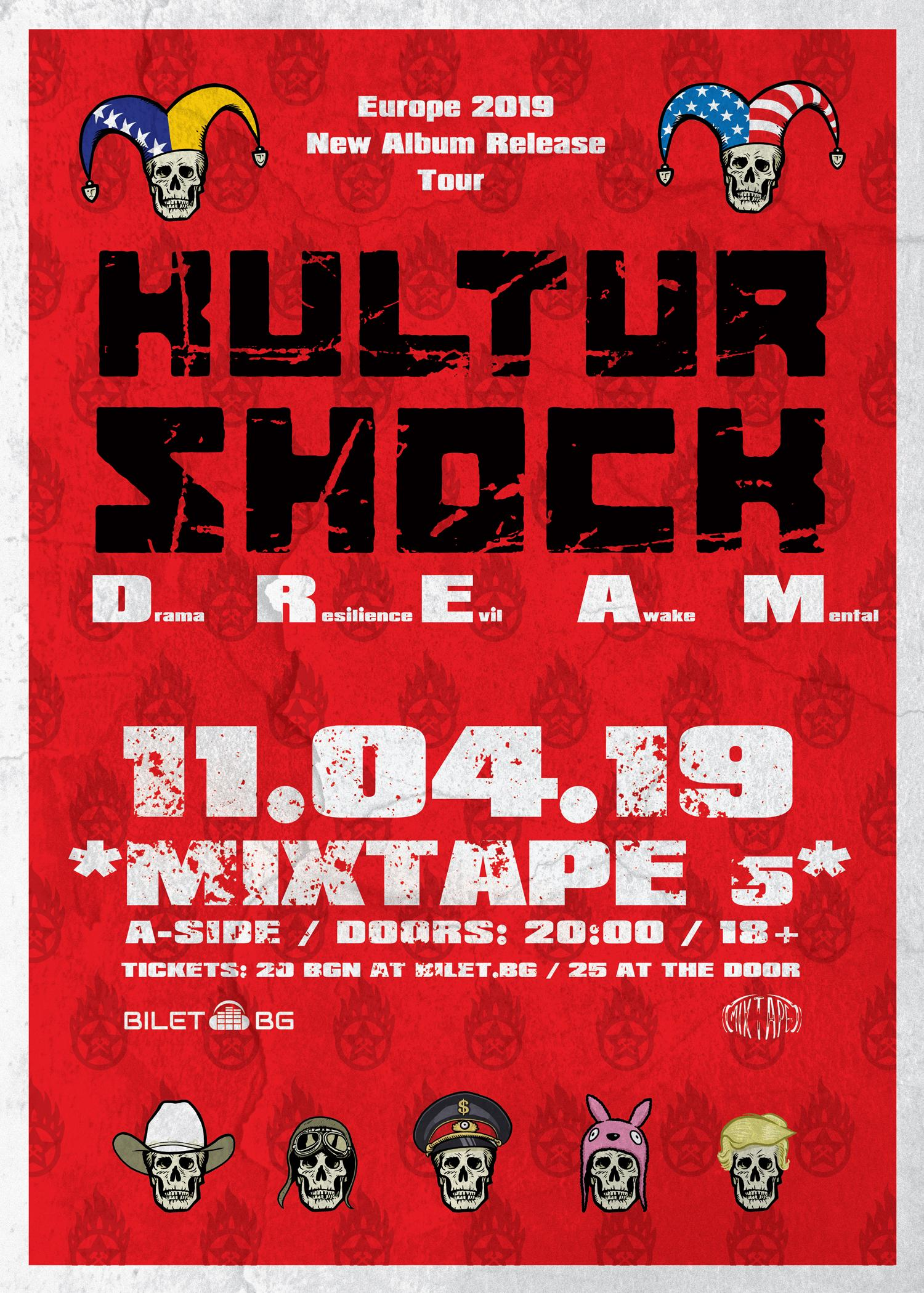 Kultur Shock /new album promo*/ live at club *Mixtape5* / 11.04.19