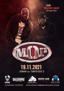 Хардкор рап дуото M.O.P. ще експлодира в MUSIC JAM  на 19 ноември 2021!